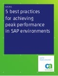 5 Best Practices to Keep SAP Running at Peak Performance