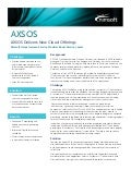 AXSOS Delivers New Cloud Offerings