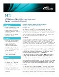 MTI Delivers New Offerings, Improved Service Levels with Nimsoft