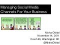 Crush IQ Workshop: Managing Social Media Channels For Your Brand