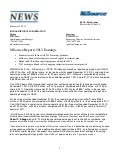 NiSource FY 2012 Earnings Press Release