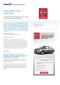 Nissan Case Study: LinkedIn Helps Nissan India Put Professionals in the Driver's Seat