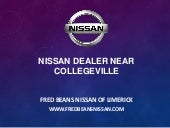 Nissan Dealer near Collegeville