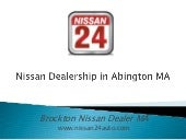 Nissan Dealership in Abington MA