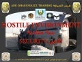 UAE Police & Military Hostile Environs Security Training Project V