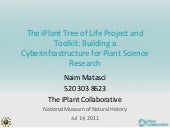 The iPlant Tree of Life Project and...