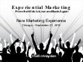 Experiential Marketing - Web to Live and Back Again - NME 2010 Chicago