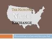 National Name Exchange
