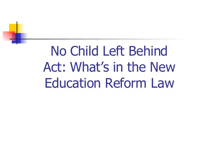 nclb research papers Signed the no child left behind act of 2001 (nclb, 2003) this legislation resulted in federal accountability measures for the academic achievement of all students in spite of  research papers 10 i-manager's journal on educational psychology, vol 5 l no 1 l may - july 2011.