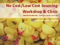 No Cost/Low Cost Sourcing Workshop and Clinic