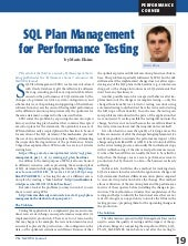Using SQL Plan Management for Perfo...