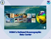 NOAA's National Oceanographic Data ...