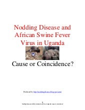 Nodding Disease and Swine Fever (Se...