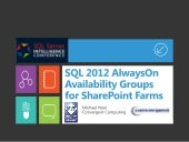 SQL 2012 AlwaysOn Availability Grou...