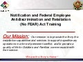 EEO No Fear Training Slides - 2014