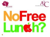 An overview of our No Free Lunch? campaign