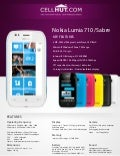 Nokia Lumia 710 Black(Unlocked Quadband) Windows 7.5 Smartphone-features-specification-at cellhut
