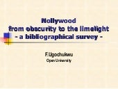 Nollywood into the limelight