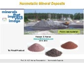 Non-metallic Mineral Deposits