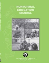 Nonformal Education Manual (Part I)