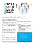 Nonprofits Guide to Social Media (2011)