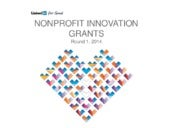 Nonprofit Innovation Grants Winners...