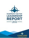 Nonprofit Sector Leadership Report 2016