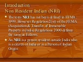 Non resident indian (nri)bala
