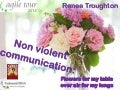 Non violent communication and Agile: Individuals and Interactions over processes and tools