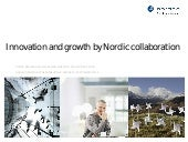 Innovation and growth by Nordic col...