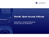 Nordic Open Access Policies