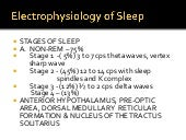 Normal sleep and sleep disorders