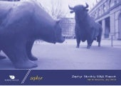 Zephyr Monthly M&A Report North America, July 2014
