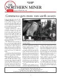 Northern Miner: Commerce Gets More Rare Earth Assays