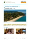 Northern queensland villa 505