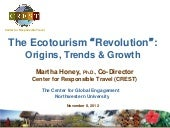 The Ecotourism Revolution