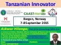 Tanzanian innovation on water-filtration system