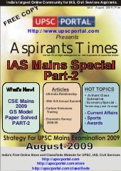 Aspirants Times Magazine Vol5 - Aug...
