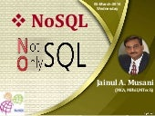 NoSQL - 05March2014 Seminar