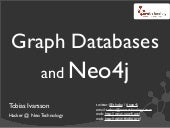 NOSQLEU - Graph Databases and Neo4j