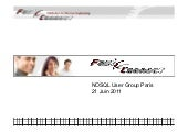 NoSQL User Group Paris - 21 Juin 20...