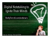 Digital Notetaking for Students