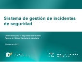 Notificacion de Incidentes
