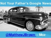 Not Your Father's Google News SearchLove 2015