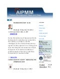 Nov19, 2012 Product Management News and Views from AIPMM