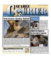 Seabee Courier Nov. 8, 2012
