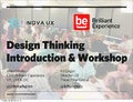 Design Thinking Introduction & Workshop - NoVA UX