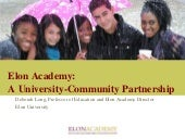 A University-Community Partnership ...