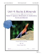 Np rocks and minerals