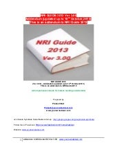 NRI guide 2013 ver 3.00  addendum u...